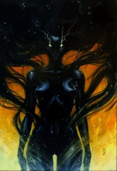 Sha - The Shadow One - (Tome 1) by Olivier Ledroit - Original Cover