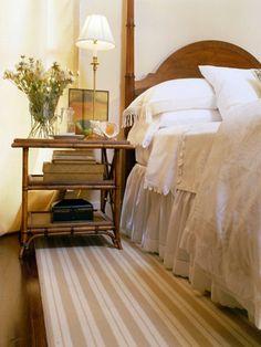 {guest room nightstand}