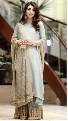Explore the most extensive collection of Sabyasachi suits. His stylish outfits are must-haves for every ethnic wardrobe. Sabyasachi Suits, Sabyasachi Lehenga Bridal, Lehenga Gown, Indian Dresses, Indian Outfits, Sharara Designs, Sharara Suit, Pakistani Dress Design, Bridal Outfits