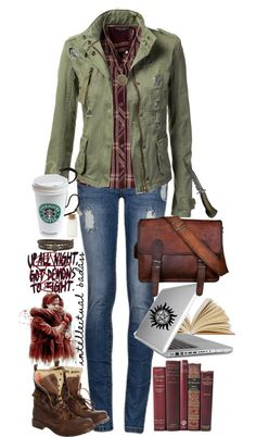 Sam inspired supernatural look, love the jacket and flannel