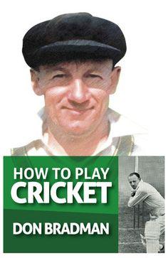 Don Bradman book how to plat cricket.Buy this online www.trendypaper.com