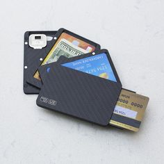 PITAKA New Magwallet. Magnetic-stripe friendly. Will launch soon on IndieGoGo. Click to sign up.