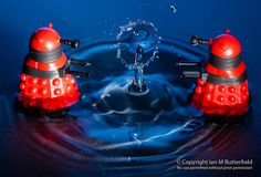 Water droplets and daleks (3/365) by Ian M Butterfield, via Flickr