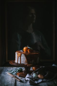 Six Years of Adventures in Cooking + Persimmon Cake with Brown Butter Icing and Salted Creme Fraiche Caramel by Eva Kosmas Flores