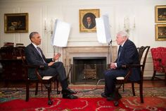 Barack Obama interviews Sir David Attenborough in unique White House encounter for BBC1 - News - TV & Radio - The Independent