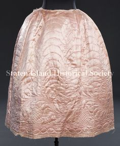 Image of C01.3681, Petticoat: front view