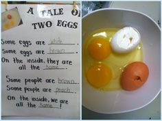 A Tale of Two Eggs from Life is Sweet In Kindergarten!