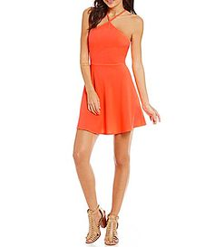fbae6a8e7 Jodi Kristopher Sleeveless Circle Lace Fit-and-Flare Dress | Pretty ...