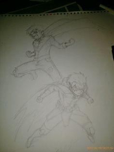 Jon ken & Damian wyne