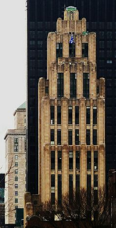 Aldred Building, Notre-Dame street, Art Déco Montreal