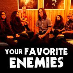 Noise-rockers Your Favorite Enemies are Canada's best-kept secret. Music App, Best Kept Secret, Rockers, Enemies, Itunes, Your Favorite, Artists, Live, Day