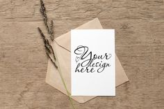 Wedding Card Mockup with envelope and herbs PSD Mockup Template Free Mockup Templates Free Wedding Cards, Card Wedding, Free Mockup Templates, Licence Lea, Free Photoshop, Free Fonts Download, Ipad, Envelope, Packaging Design