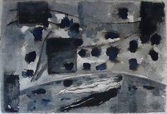 Pax (2014) : Ink on rag paper / Encre sur papier chiffon, 70x103cm ©RobertoMangú #ink #painting #art #Mangu