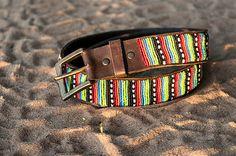 Kenyan Belt  Colorful beaded Belt  Handmade in by PundaMiliaShop