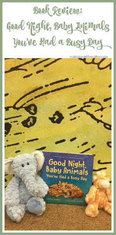 Book Review: Good Night, Baby Animals, You've Had A Busy Day