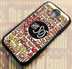 collage Art For Samsung Galaxy Black Rubber Case 5sos Collage, Collage Art, Iphone 4, Iphone Cases, Samsung Galaxy S4, Black Rubber, Prints, Handmade, Hand Made