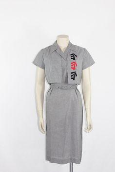 1960s Vintage Dress and Jacket  Women's by VintageFrocksOfFancy, $220.00