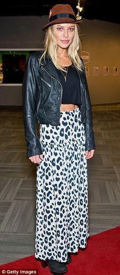 Lauren German + skirt