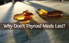 Have you had your meds work & then suddenly STOP working??? Learn why some thyroid medications stop helping, here ▼ http://thyroidnation.com/dont-conventional-thyroid-medications-work-long-term/ #Thyroid #Hypothyroidism #Hyperthyroidism #SyntheticMeds #Synthroid #Levothyroxine #Health #UnitedWeHeal