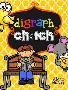 Students will practice the digraph ch and trigraph tch with a variety of activities. Ideal for whole group, literacy centers, and independent practice.Included in this pack:- Posters - ch/tch word sort & Recording Sheet-Interactive Journal- ch/tch Song/Poem- ch/tch book- Read & Highlight- Read & Color- Spin & Write a Sentence- Match & Write-SH or CH? School Projects, School Ideas, Consonant Digraphs, Interactive Journals, Grade Spelling, Sight Word Games, Spelling Activities, Word Sorts, Recording Sheets