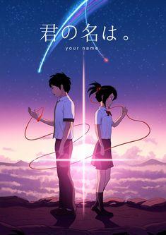 Kimi No Na Wa - Your Name fan poster