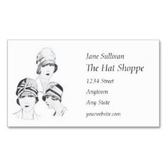 72 best beauty cosmetics spa skincare business cards images on browse and shop for business cards for designers and the fashion profession like this hat fashion reheart Choice Image