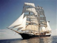 Swedish Tall Ship 'Gunilla'