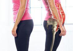 Hjælp til stram hoftebøjer og flad mave: Øvelse 1 Massage Tips, Good Massage, Massage Techniques, Live Fit, Stay Fit, Fitness Tips, Yoga Fitness, Tummy Workout, Burn Belly Fat Fast