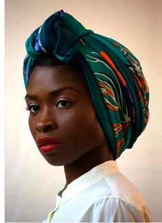 I need this head wrap... IMMEDIATELY!