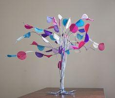 puppenhaus miniatur baum tree doll arbol spring primavera selber basteln kinder frühling kinder 1