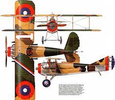 SPAD S.XIII C1 Unit: 94th Aero Squadron, US Air Corps, AEF Serial: 1 (S4523) Pilot - the top WW1 ace of US Capt.Eddie Rickenbacker (28 victo...