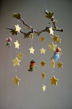 Peter Pan #nursery mobile