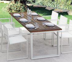 ESSENCE | DINING TABLE - Mesas de comedor de jardín de diseño de Talenti ✓ toda la información ✓ imágenes con alta resolución ✓ CADs ✓..