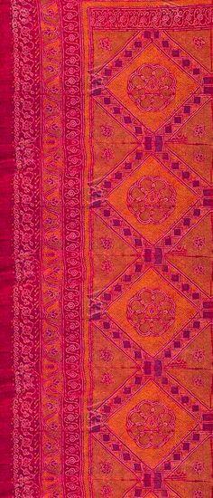 I ❤ NARANJA + MAGENTA alfombra vandaimages.com