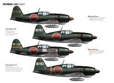 "Mitsubishi J2M3 Raiden (""Thunderbolt"") - Allied reporting name ""Jack"""