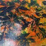 La vetana..cartulina pintada acrílico 30x40cm