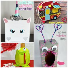29 Adorable DIY Valentine Box Ideas  Puppys DIY and crafts and On