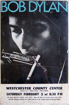 02 05 1966 Bob Dylan Concert Poster