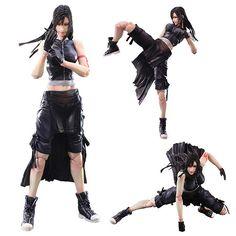 Final Fantasy VII Advent Children Tifa Lockhart PAK Figure - Square-Enix - Final Fantasy - Action Figures at Entertainment Earth