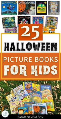 25 Halloween picture books for children. 25 Halloween picture books perfect for your child to read this October! Find classic Halloween books and cute Halloween books that are more modern. #booksforkids #halloweenpicturebooks #picturebooks #halloween