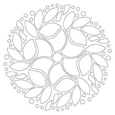 Interesting shapes form a mandala design; I can see this as a die cut using ard . - Interesting shapes form a mandala design; I can see this as a die cut using ard stock as a window l - Mandala Design, Mandala Art, Flower Mandala, Mandala Coloring Pages, Colouring Pages, Adult Coloring Pages, Coloring Books, Stained Glass Patterns, Mosaic Patterns