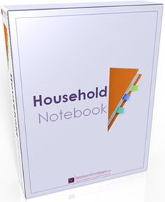 Household Notebook or Organize Paper and Important Information Jounral.  Can use and take with you when there is an emergency or need to know.  Great idea, I'm going to redo my file-folder and tell all the children to look in the book for everything.
