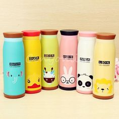 500mL Cute Stainless Steel Vacuum Flask Thermos Travel Mug Coffee Cup Xmas Gifts in Sporting Goods, Camping & Hiking, Accessories | eBay