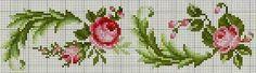 truques coração bonito: Ponto de Cruz: Rosas em estilo Shabby-chic ... e não só (sistemas de recolha)
