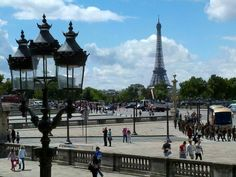 Eiffel Tower, July 14, 2012. Photo by Hope Tarr for EuropeUpClose.com.