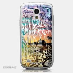 CASEiLIKE Samsung Galaxy S4 mini back cover Graffiti 2729