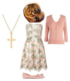 """""""Quinn Fabray from Glee outfit"""" by ll1021 ❤ liked on Polyvore featuring Glamorous and Melissa"""