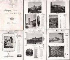 CALENDARIO LIBERTY (1895) DELLE CITTÀ DELL'UMBRIA