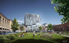 UIO Tullinkvartalet – New University Building for the Faculty of Law at the University of Oslo Proposal / MAD Arkitekter