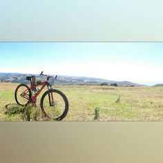 This is my single speed mtb at the end of Tuxion Road Apollo Bay. The Otway Ranges and Great Ocean Rd are in the background.  #singlespeed #mtb #mountainbike  #mtblife #bicycle #29er #bike #Instabike #igersmtb  #mtbporn  #cycling #instabike #lovethedirt #aussiebush #outdoorisfree #wymtm  #mountainbiking  #ridemoremtb #instamtb  #greatoceanroad #gor #Otwayranges  #gravel #aussiecycling #aussiesummer #iamspecialized #Apollobay by ogaram